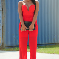 City To City Jumper: Red