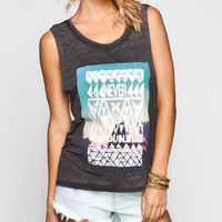 Hurley Never Found Womens Muscle Tank Black  In Sizes
