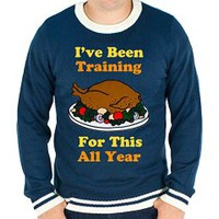 Awesome Ugly Thanksgiving Sweater (+ Big/Tall Sizes up to 4XL!) - The Ugly Sweater Shop
