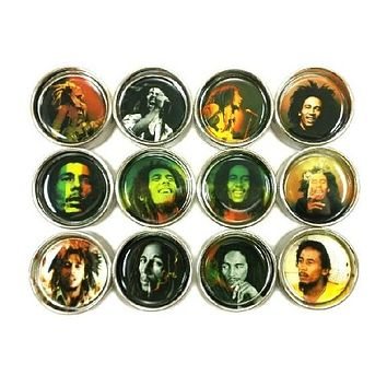 "Bob Marley Top Grinder 3.0"" (75mm)"