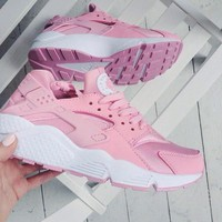 """""""NIKE""""AIR Huarache Running Sport Casual Shoes Sneakers pink"""