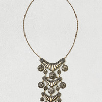 AEO MEDALLIONS STATEMENT NECKLACE