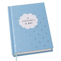 A SENTENCE A DAY JOURNAL: CELEBRATE TODAY