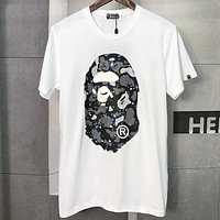 Boys & Men  Bape  Fashion Casual Shirt Top Tee