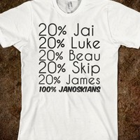 janoskians percentage shirt