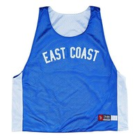 East Coast vs West Coast Lacrosse Pinnie