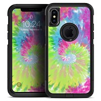 Spiral Tie Dye V7 - Skin Kit for the iPhone OtterBox Cases