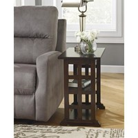 T017-477 Braunsen Chair Side End Table - Brown - Free Shipping!