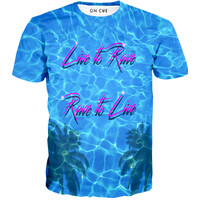 Live To Rave Rave To Live T-Shirt