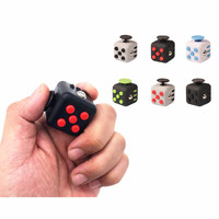 11 Styles Squeeze Fun Stress Reliever Gifts Fidget Cube Relieves Anxiety and Stress Juguet For Adults Fidgetcube Desk Spin Toys