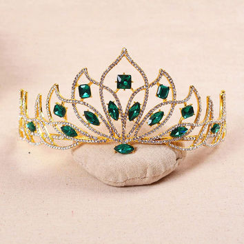 Emerald Tiara - May Birthstone