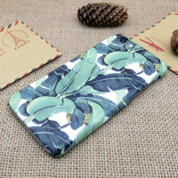 Banana Leaf Best Protection iPhone 7 7 Plus & iPhone 6 6s Plus & iPhone 5s se Case Personal Tailor Cover + Gift Box