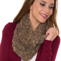 Hollis Infinity Scarf - Taupe - One Size / Taupe