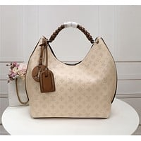 lv louis vuitton womens leather shoulder bag satchel tote bags crossbody 533