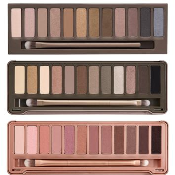 3pcs/lot NK1 2 3 Makeup Set 12 Colors/Palette. You Get NK1 2 3 Eyeshadow Palettes Make Up With Brushes