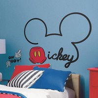Disney Mickey Mouse Peel & Stick Giant Wall Decals