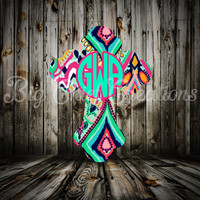 Lilly Cross Decal