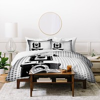 The Light Fantastic Dapper Duvet Cover