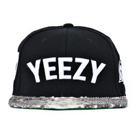 """KANYE WEST 77 YEEZY SNAKESKIN STRAPBACKS """"REAL PYTHON""""   BBP Official Web Store  New Collection Saison 2014"""