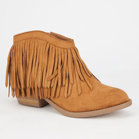 Soda Jervis Womens Booties Tan  In Sizes