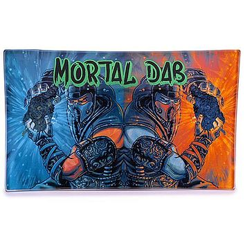 Mortal Dab Glass Tray