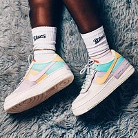 Nike Air Force 1 Shadow AF1 New fashion hook women multicolor shoes