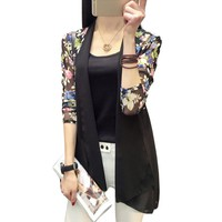 Long Chiffon Ladies Shirts Summer Women's Kimono Cardigan Blusa Air Conditioning Sunscreen Female Blouses Jackets