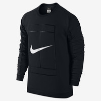 The NikeCourt Crew Men's Tennis Shirt.