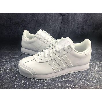 Adidas Originals Samoa W Pigskin White Sports Running Shoes