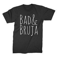 Bad and Bruja Shirt Witch Shirt Wiccan T Shirt