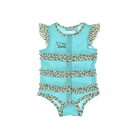 First Impressions Animal Print Infant Girls One-Piece