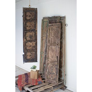 Wooden Door Panel Wall Art - Assorted Designs
