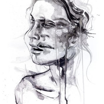 Tremore Art Print by Agnes-cecile