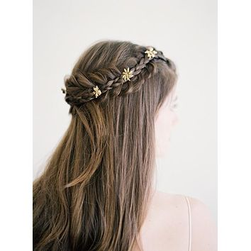 Bloom Wild | Jasmine Flower Bridal Hair Pins