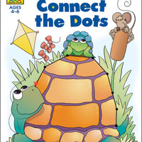 preschool workbooks 32 pages-connect the dots