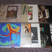 Led Zeppelin collection 10 LP Vinyl Record Lot & Robert Plant Vinyl Records Coda, IV, Presence, Song Remains , The Firm, Honey Drippers