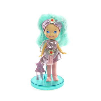 Moon Dreamers Whimzee Doll with Outfit, Stand, Comb, Glow in the Dark Hair