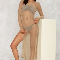 Mira Knit Cover-Up