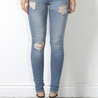 Flying Monkey Distressed Skinny Tinted