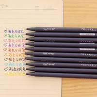 10pcs/set Watercolor Fine Line Gel Pen for Sketching Painting , Colored Fine Line Pen as Marker Pen Set for Drawing