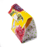 Yellow Floral Lunch Bag