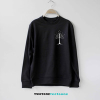 White Tree of Gondor Shirt The Lord of the Rings Sweatshirt Sweater Unisex