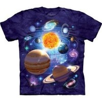 The Mountain You Are Here Universe Adult T-shirt M (Purple)