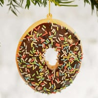 Plush Donut Ornament - Urban Outfitters