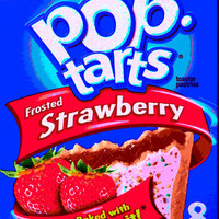 Pop Tarts Pop Art Stretched Canvas by TheLeb | Society6