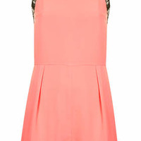Pretty Lace Playsuit - Pink