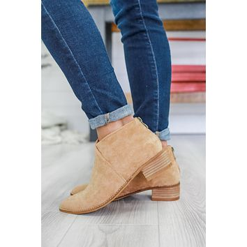 Hallie Booties - Camel