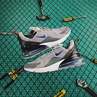 Nike Air Max 270 Wolf Grey Running Shoes