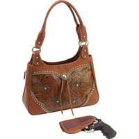 """Casual Outfitters"""" Western-Style Concealed Carry Purse"""