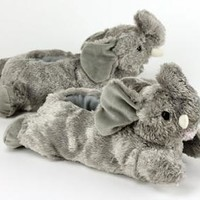 Animal Slippers | Plush Animal Slippers | Fuzzy Animal Slippers
